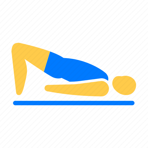 athletic, exercise, fitness, yoga icon