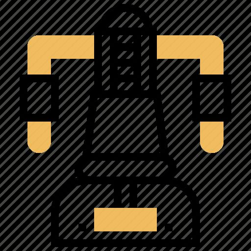 Bodybuilding, deck, gym, machine, pec icon - Download on Iconfinder