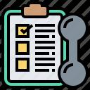 checklist, clipboard, inspection, planning, schedule