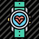 runner, smartwatch, sport, technology, tracking