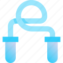 exercise, fitness, health, jump, string icon