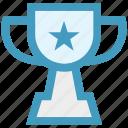 award, fitness, prize, reward, star, trophy, winner icon