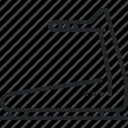 machine, running, track, treadmill icon