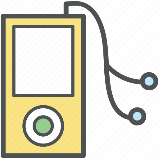 ipod, media, mp3, multimedia, music, music player, portable device icon