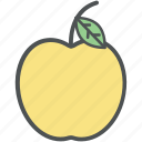 apple, diet, food, fresh, fruit, healthy diet, healthy food icon