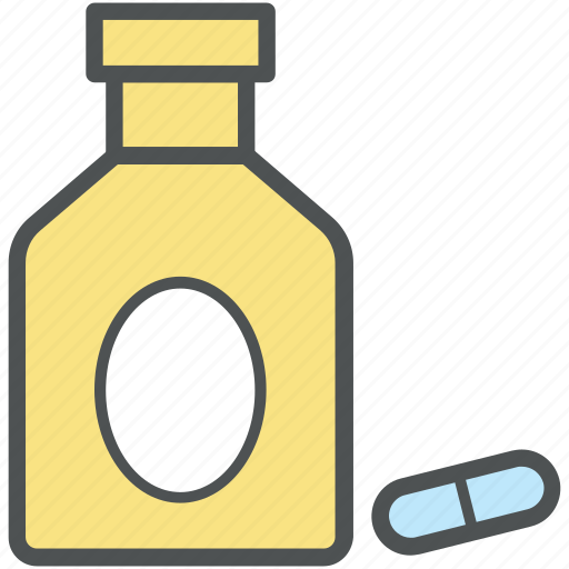 capsules, medical drugs, medications, medicine, pills, treatment, vitamins icon