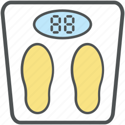 bathroom scale, obesity scale, scale, tape measure, weighing scale, weight loss, weight scale icon