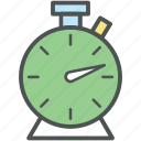 alarm clock, chronometer, clock, stopwatch, time keeper, timepiece, timer, watch icon