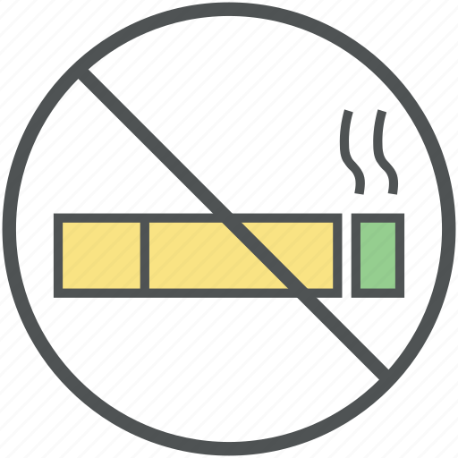 cigarette, forbidden, no smoking, no smoking sign, quit smoking, restricted, tobacco icon