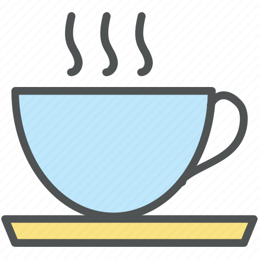 beverage, cup, cup with saucer, hot tea, tea, tea cup icon