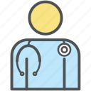 doctor, general doctor, medical assistant, medico, physician, physiotherapist, specialist icon