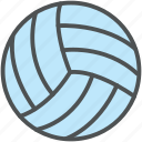 ball, game, play, sports, sports ball, sports equipment, volleyball