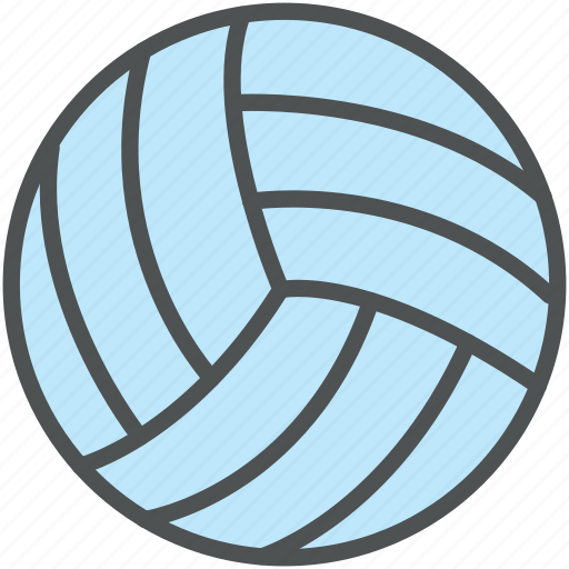 ball, game, play, sports, sports ball, sports equipment, volleyball icon