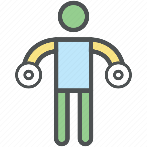 bodybuilder, bodybuilding, exercise, fitness, gym, lifting, weightlifting icon