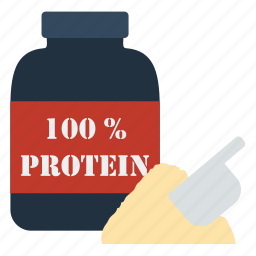 container, design, fitness, gym, protein, sport icon