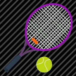 design, fitness, gym, rocket, sport, tennis icon