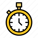 competition, fitness, gym, health, stopwatch icon
