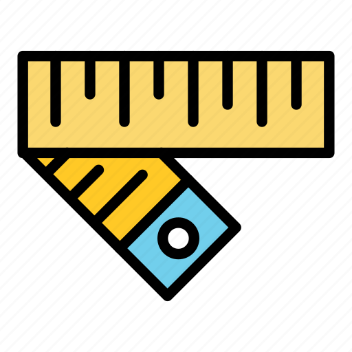 fitness, gym, health, measure, tape measure icon