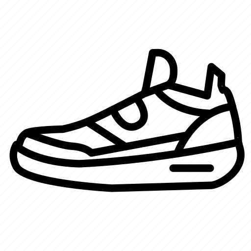 fitness, gym, health, shoe, sneaker icon