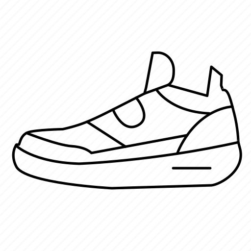 fitness, gym, running, shoe, sneaker icon