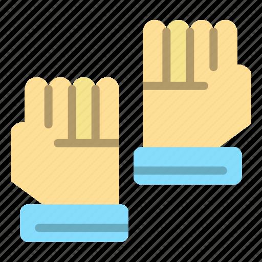 glove, gloves, goalkeeper, sport icon