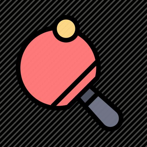 pong, racket, table, tennis icon