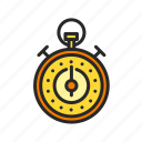 fitness, health, sport, stopwatch, timer icon