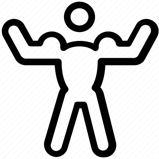 fitness, gym, gymnastic, health, lifting, muscle icon