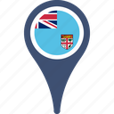 fiji, fijiflagpin, flag, map, mappin, pin icon