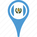 country, flag, flags, guatemala, national icon