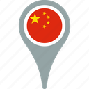 china, country, flag, flags, of, peoples, republic, the icon