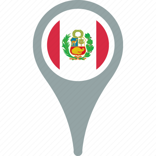 country, flag, flags, peru, world icon