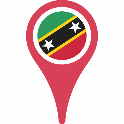 and, country, flag, kitts, nevis, saint icon