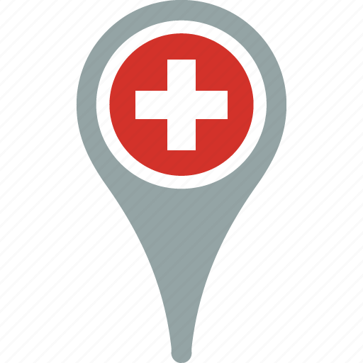 country, flag, map, pantone, pin, switzerland icon