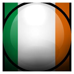 gg, ie, ireland icon