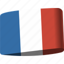 country, flag, flags, france, map, national, world icon