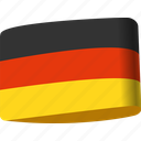 country, flag, flags, germany, globe, national, world icon