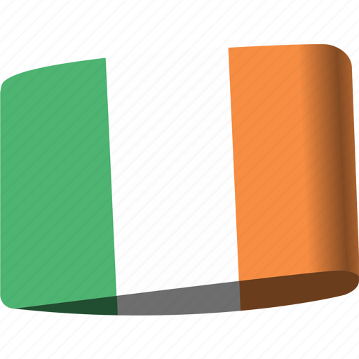 country, flag, flags, ireland, map, national, world icon
