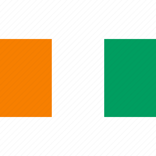 africa, country, flag, ivorycoast icon