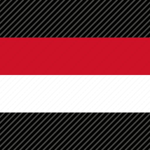 country, europe, flag, indonesia, monaco icon