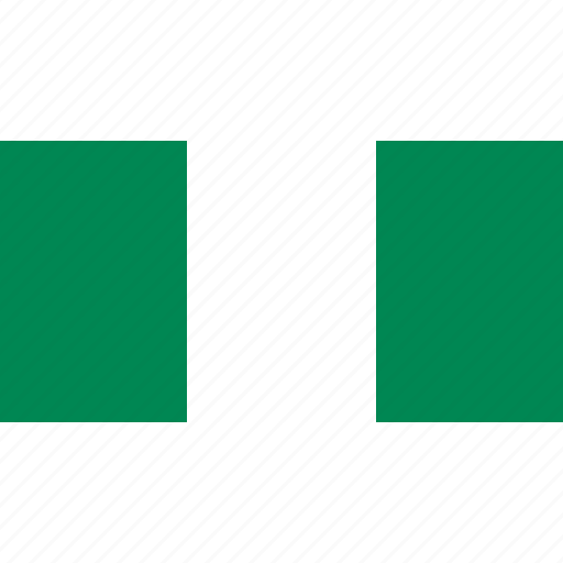 africa, country, flag, nigeria icon