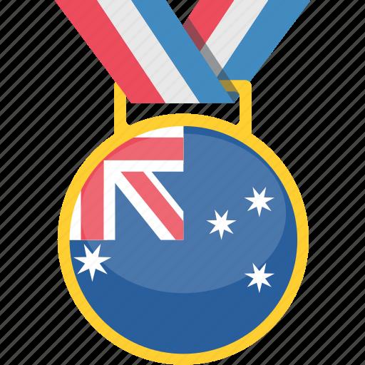 australia, country, flag, nation icon
