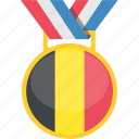 award, badge, belgium, prize, trophy icon