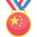 award, china, country, flag, tournament, win icon