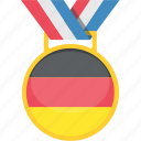 badge, germani, medal, tournament icon