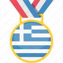 goal, greece, soccer, tournament icon