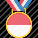 flag, medal, monaco, prize icon