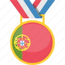 champion, portugal, prize, trophy icon