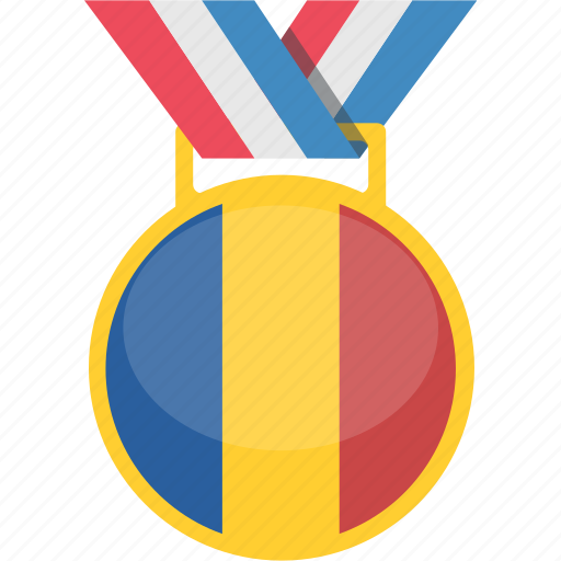 champion, prize, romania, winner icon
