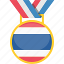 badge, landmark, thailand, winner icon